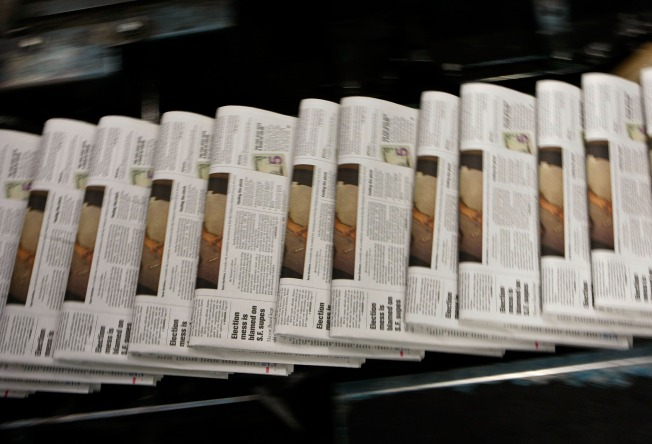 Disappearing Ink: 10 Newspapers at Risk