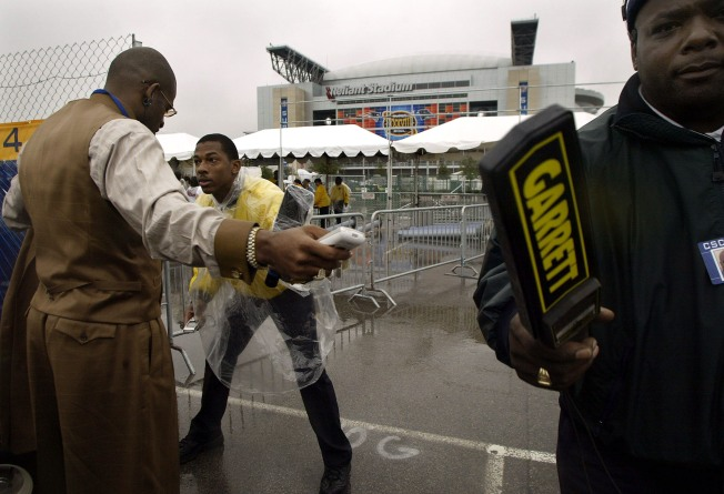 NFL Beefs Up Security at Stadium Gates