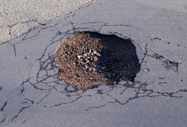 Report a Pothole, Save a Vehicle