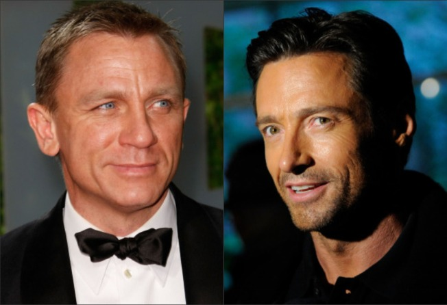 "Craig & Jackman Open ""A Steady Rain"" On Broadway"