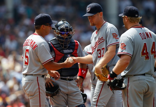 Phillies Outpower Nationals