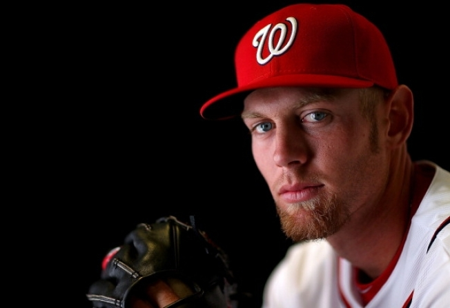 Strasburg Pitches Two Innings in Spring Opener