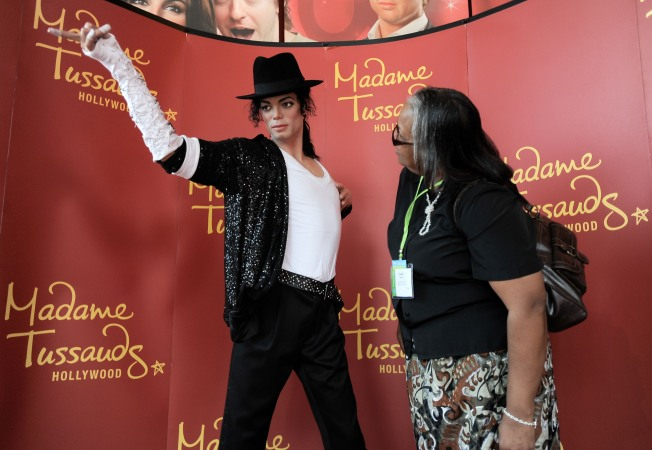 A Trio of MJs at Madame Tussauds