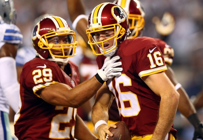 Colt McCoy Leads Redskins on Another Game-Winning Drive