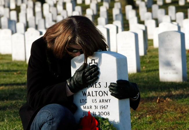 Mementoes at Arlington Graves Form Archival Record