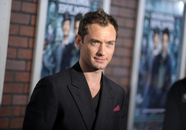 A Sexy Dr. Watson? Jude Law Says It's Elementary