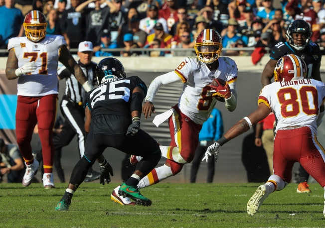 ae9c7601 Johnson Leads Redskins to Late Scores, 16-13 Win at Jaguars - NBC4 ...