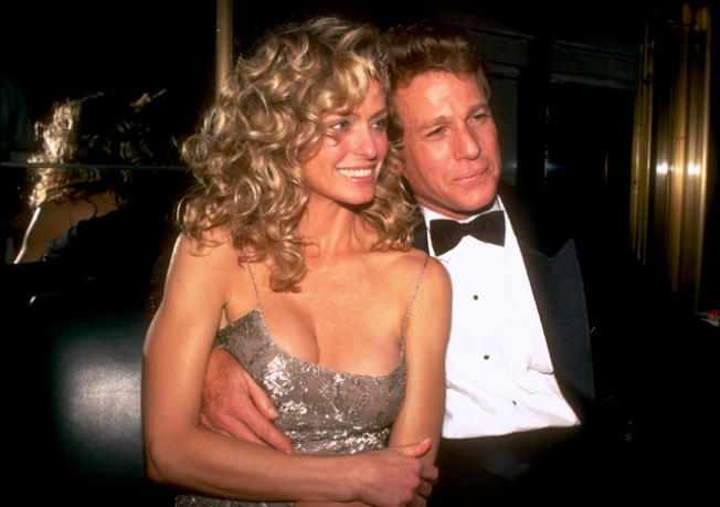 Report: Farrah Fawcett Leaves Ryan O'Neal out of Living Trust