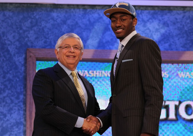 Wall, Wizards Steal Show at NBA Draft
