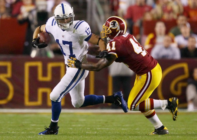 Colts' Quick Strikes Beat Redskins