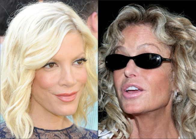 Tori Spelling: Farrah's Ghost Talked to Me