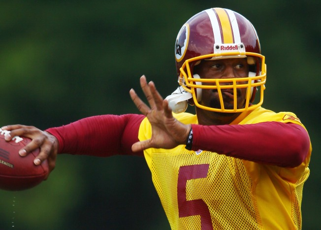 McNabb Has Growing Pains Learning Redskins Offense