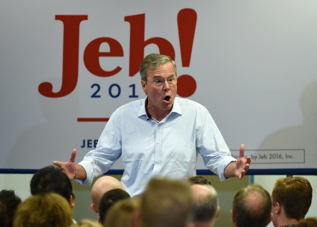 Bush Scrambles to Reassure Donors as Rubio Pounces After Debate