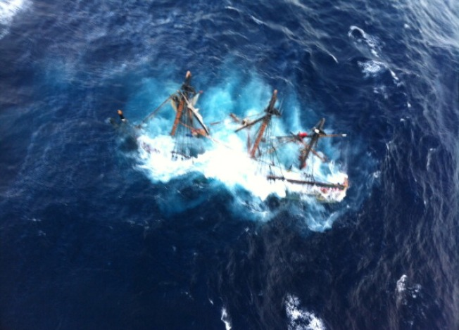 Coast Guard to Hold Hearing on Sinking of HMS Bounty