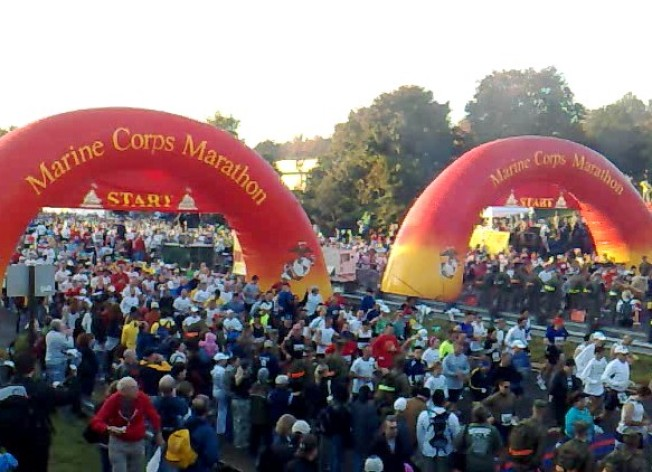 Registration Opens for DC's Marine Corps Marathon