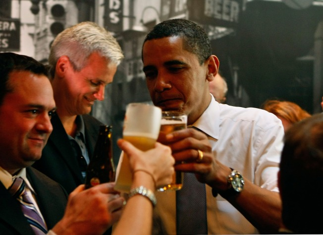 Free Beer Flows at Post-Election Bash