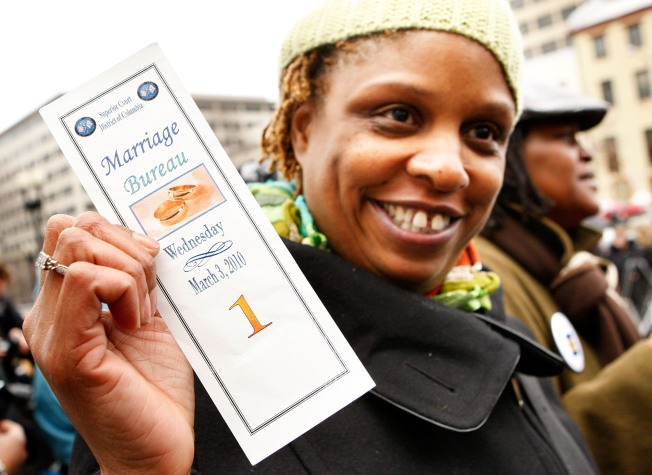 First D.C. Same-Sex Marriage Licenses Issued