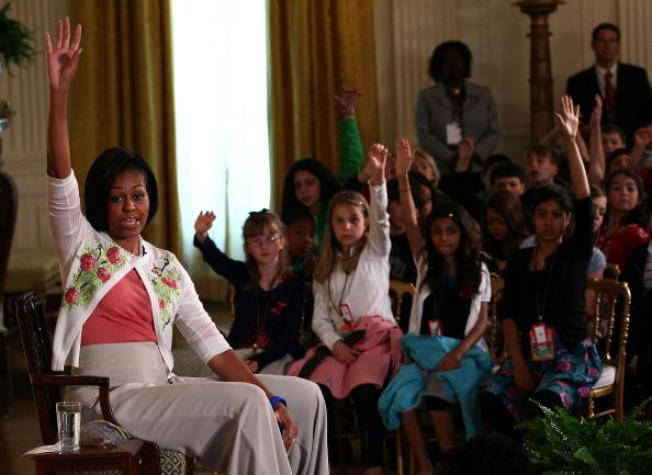 White House Welcomes Staffers' Daughters, Sons