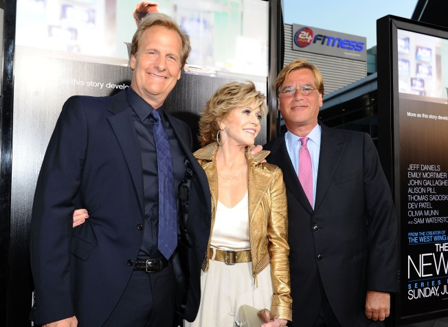 'The Newsroom' - Dazzling Dialogue Tests Series' Stars