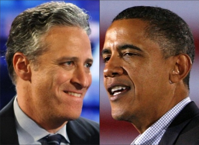 """Decision 2010: Obama to Appear on """"The Daily Show"""""""