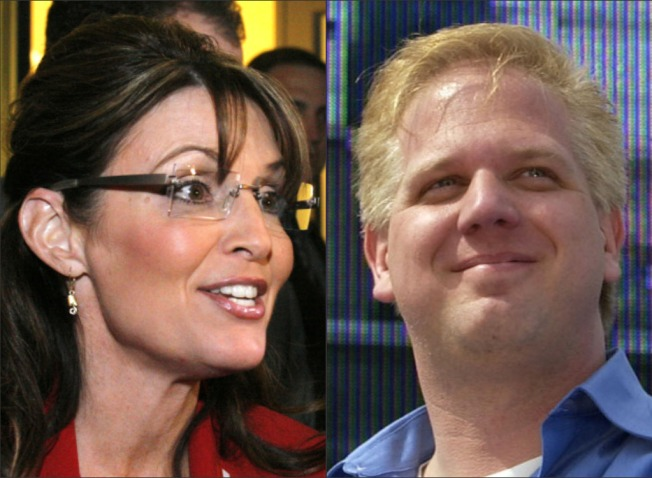 Beck: Palin's Place is in Kitchen, 2012 VP Slot