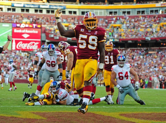 Redskins Rise to Occasion in Win vs. Giants