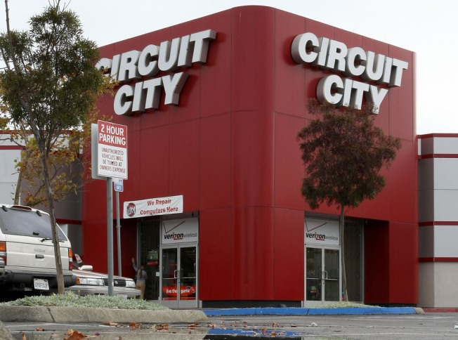 Circuit City Goes Belly Up