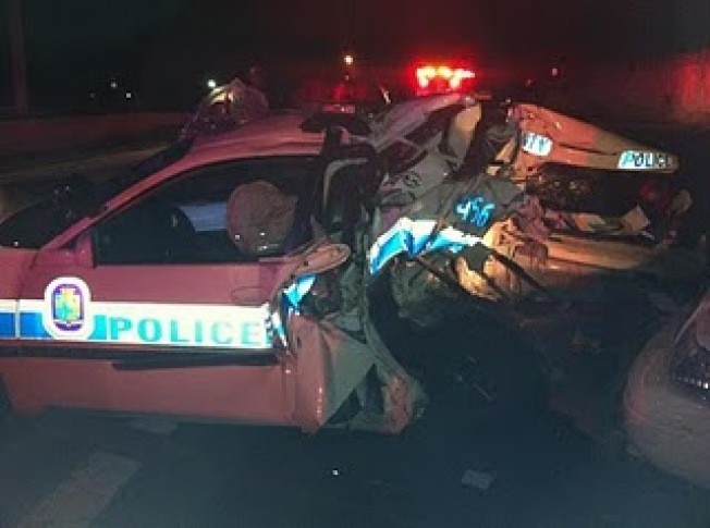 2 Prince George's Officers Narrowly Escape Crash