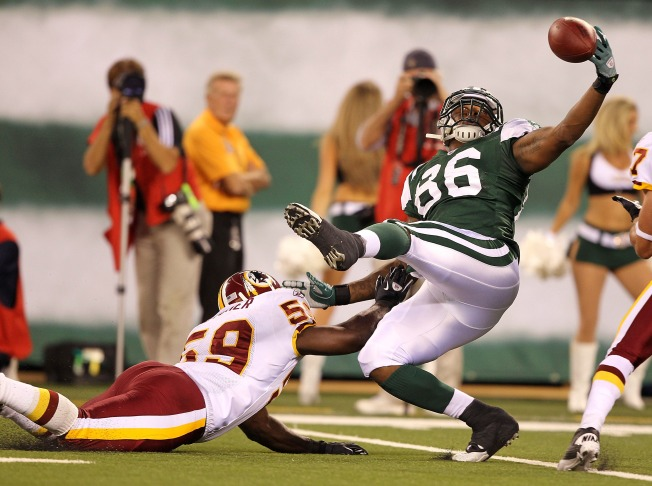 Redskins Cool Off Jets at New Meadowlands