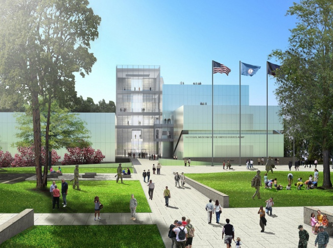 National Army Museum Design Released