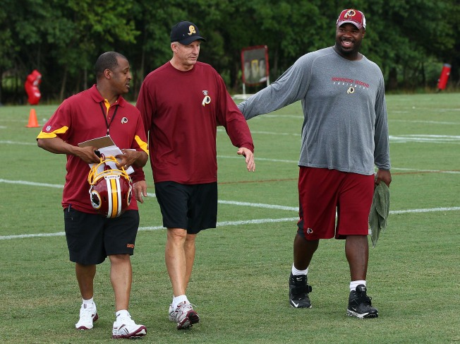 One Week In, Still No Haynesworth at Practice
