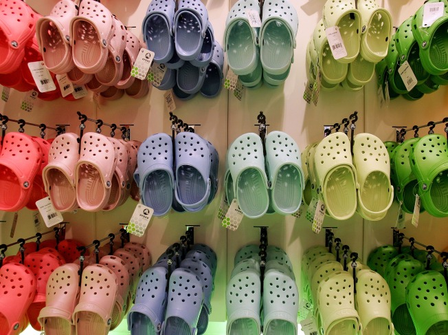 Crocs Out, Flip Flops In (Thank Goodness)