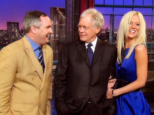 Barging In: Salahis Crash Letterman