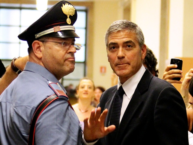 George Clooney Testifies In Italian Court
