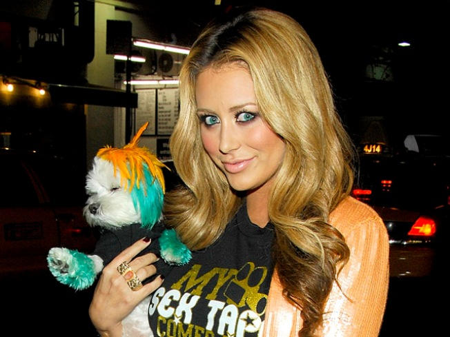 "Aubrey O'Day: My Pup ""Prefers"" Her Fur to Be Dyed"