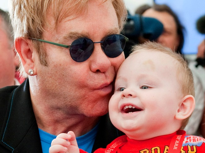 Elton John Too Old to Adopt HIV-Positive Kid: Ukraine
