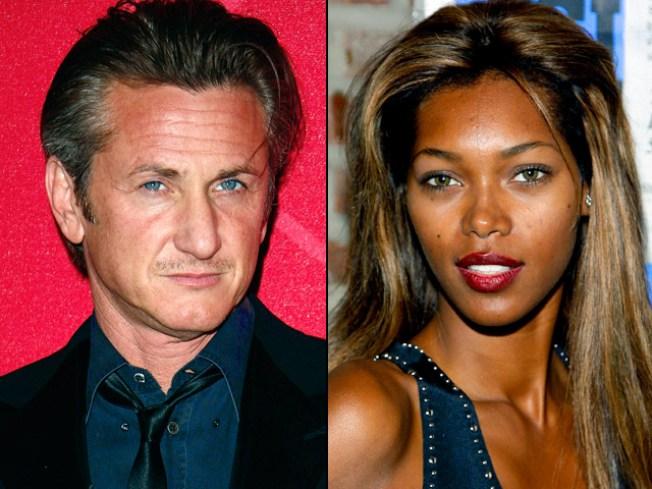 Sean Penn's Supermodel Babe Arrested in NYC Fracas