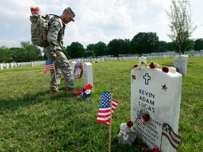 Thousands of Flags to Be Planted at Arlington National Cemetary