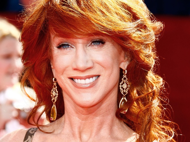 Kathy Griffin Channels Kate Gosselin For 'Jimmy Kimmel Live'