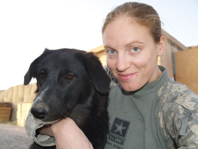 Iraq GI: Let Me Bring My Puppy Home