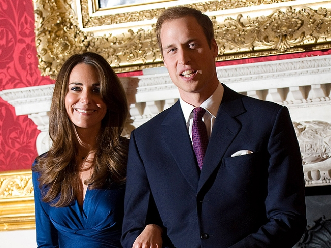First Portrait of William and Kate Shot by Fashion Photographer