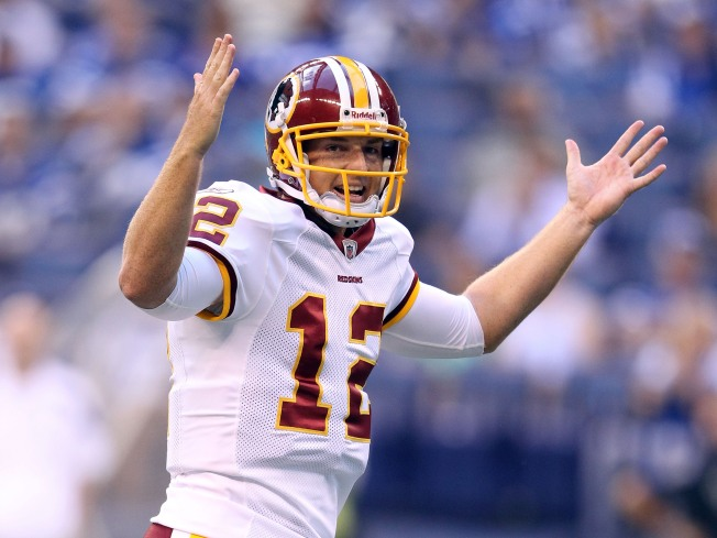 Beck Leads Redskins to Win Over Colts
