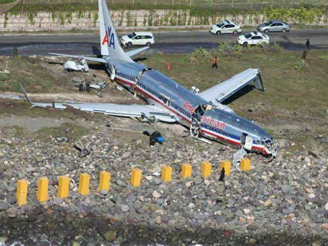 AA Jet Originated from Reagan, Misses Jamaica Runway; 40 Hurt