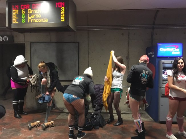 PHOTOS: No Pants Metro Rides Around the World