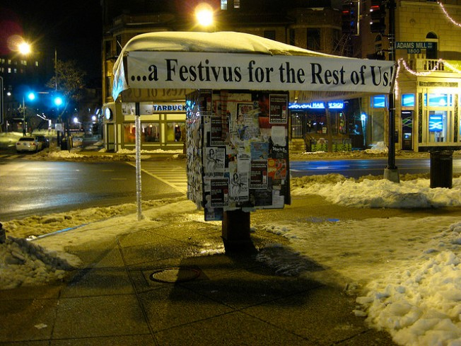 Your Local Guide to Festivus Fun, Grievances