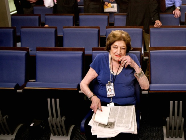 Helen Thomas Retires After Palestine Flap