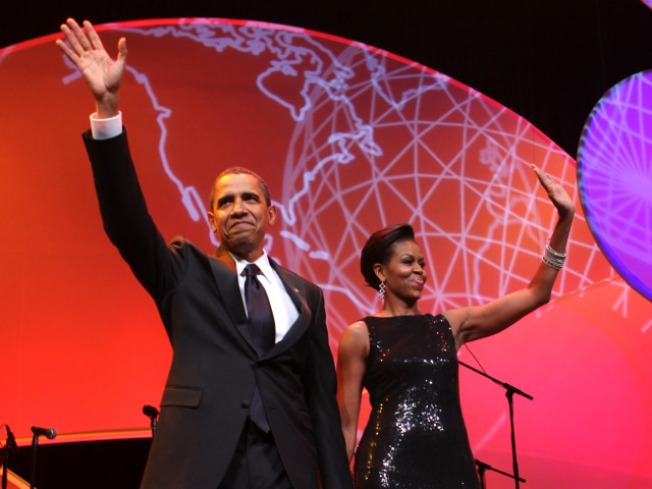 Obamas, J. Lo Attend Congressional Hispanic Caucus Gala
