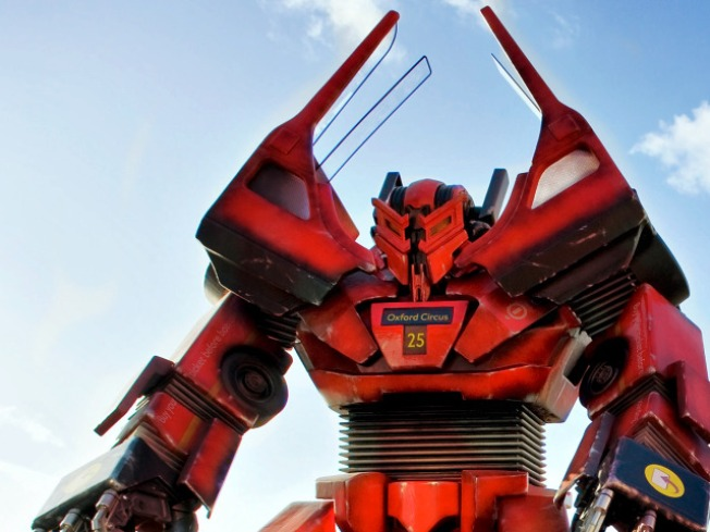 Park Service Battling to Prevent Epic Transformers Invasion