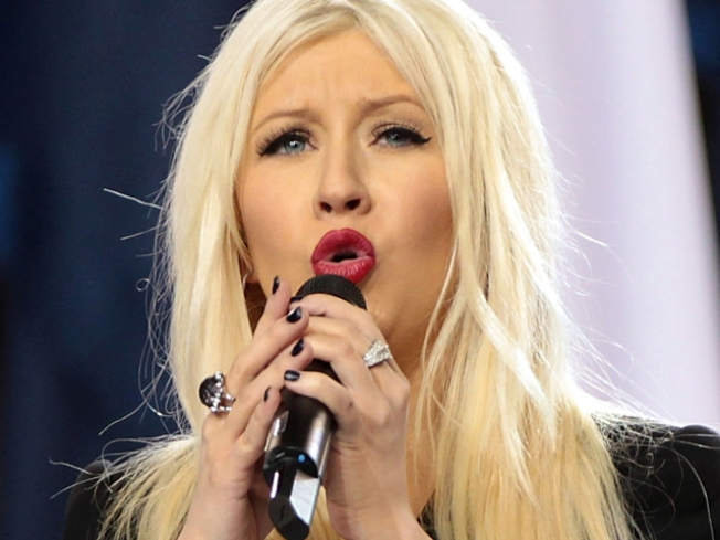 "Christina Aguilera Offered Minor League Shot at National Anthem ""Redemption"""