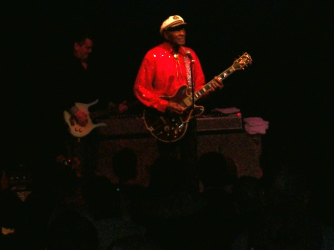 Chuck Berry Falls Ill at Congress Theater